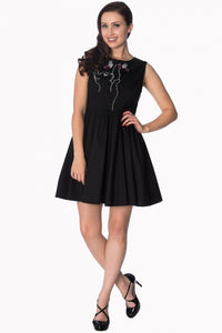 Banned Apparel - Meow Black Dress