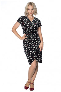 Banned Apparel - Midnight Floral Dress