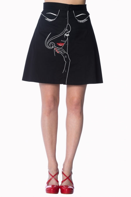 Banned Apparel - Model Space Skirt