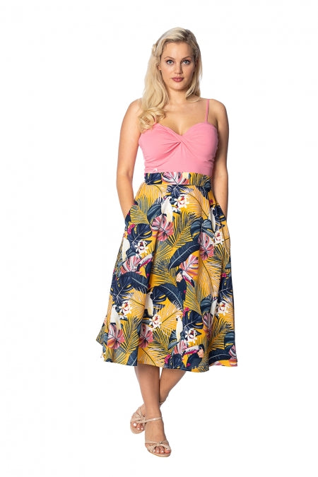 Banned Apparel - Paradise Swing Skirt