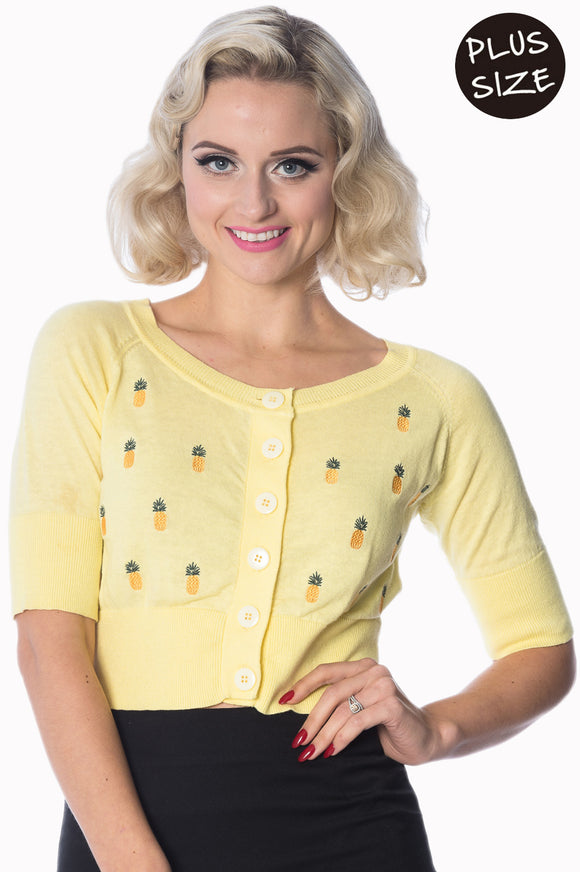 Banned Apparel - Pineapple Cardi Plus Size