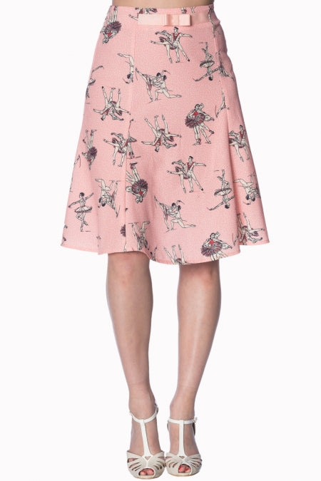 Banned Apparel - Pink Ballerina Skirt