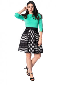Banned Apparel - Polka Love 50s Skirt