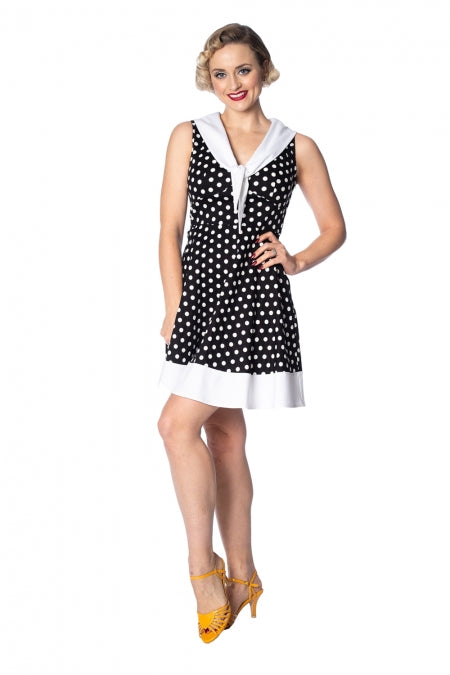 Banned Apparel - Polka Love Cute Dress