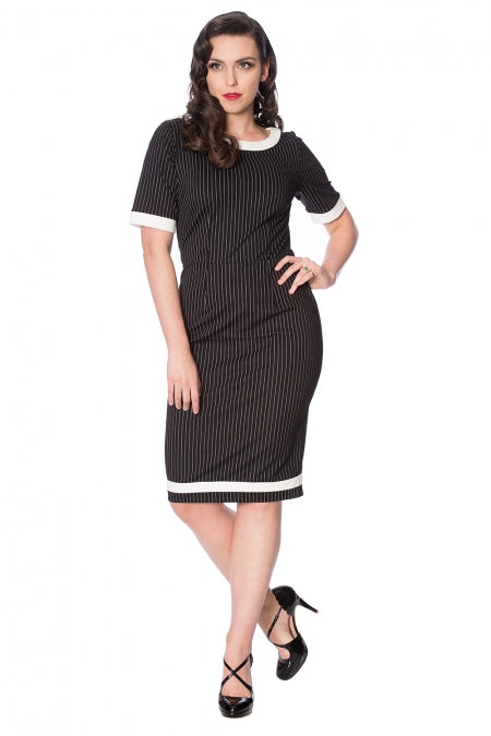Banned Clothing - Power Woman Pencil Dress