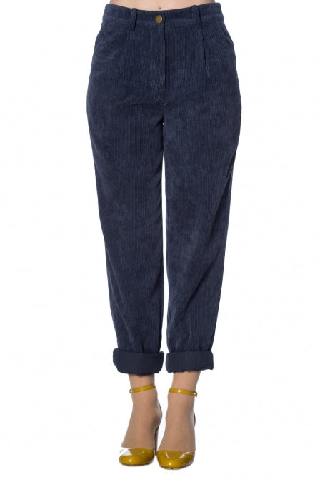 Banned Apparel - Rachel Roll Leg Trouser