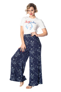 Banned Apparel - Santorini Dreams Palatso Pants