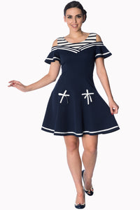 Banned Apparel - Set Sail 2 Fer Dress