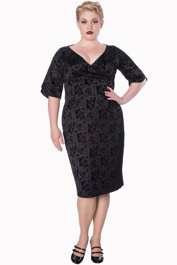 Banned Apparel - Sia Bella Pencil Plus Size Dress
