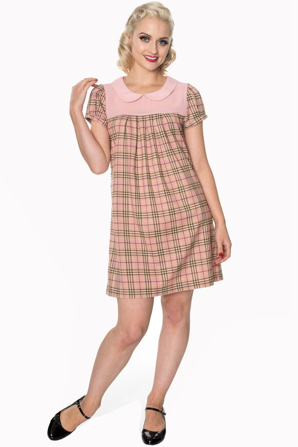Banned Apparel - Small Town Girl Dress - Egg n Chips London