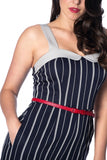 Banned Apparel - Summer Breeze 1920s Playsuit Plus Size