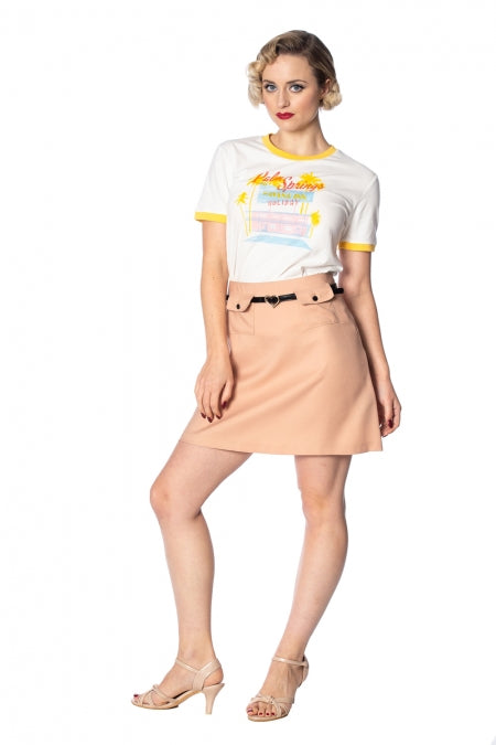Banned Apparel - Sweet Safari Skirt