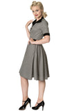 Banned Apparel - Swept Off Her Feet Swing Dress - Egg n Chips London