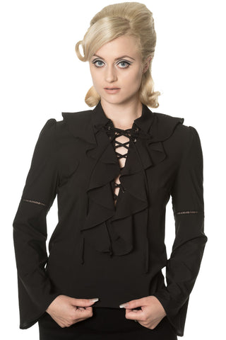 Banned Apparel - Thrill Me Blouse