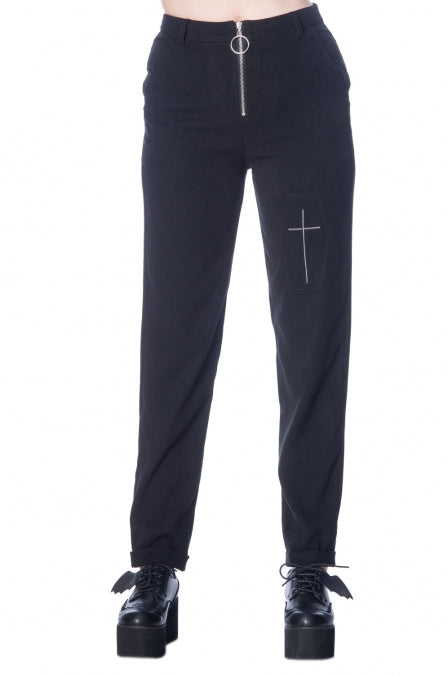 Banned Apparel - Undertaker Mom Trouser