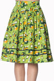 Banned Apparel - Vintage Hat 50s Style Skirt