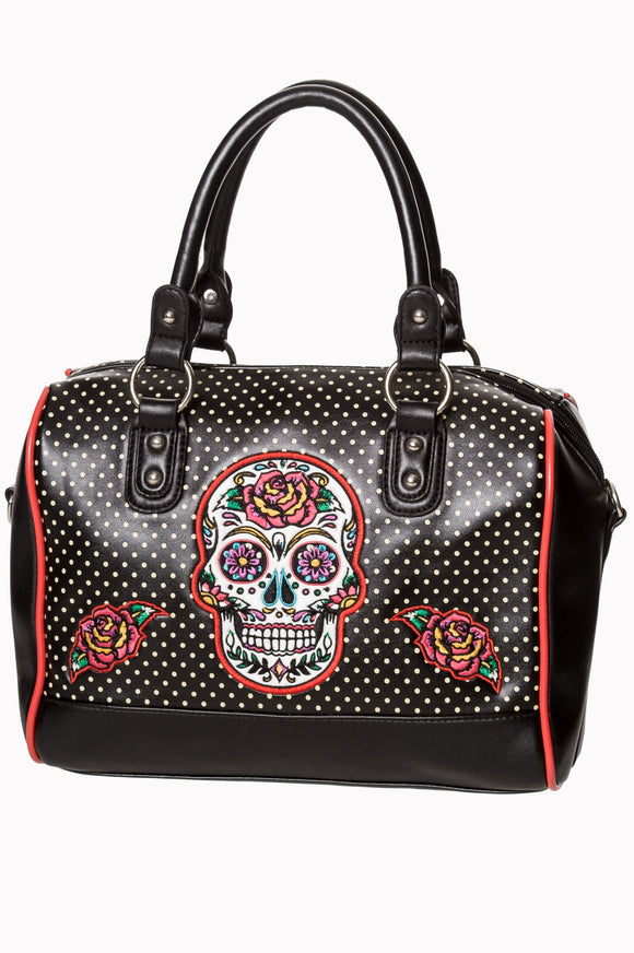 Banned Apparel - Dia De Muertos Bag - Egg n Chips London