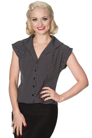 Banned Apparel - Lovely Day Blouse