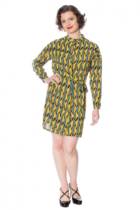 Banned Clothing - 20s Shirtdress