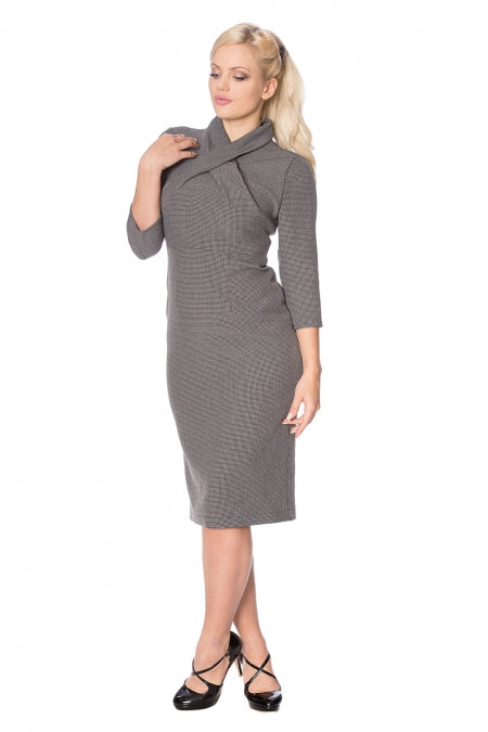 Banned Clothing - Betty Means Business Pencil Dress