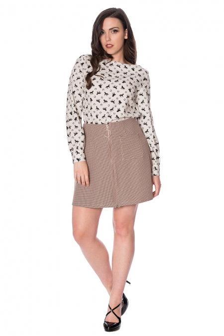 Banned Clothing - Betty Winter Mini Skirt