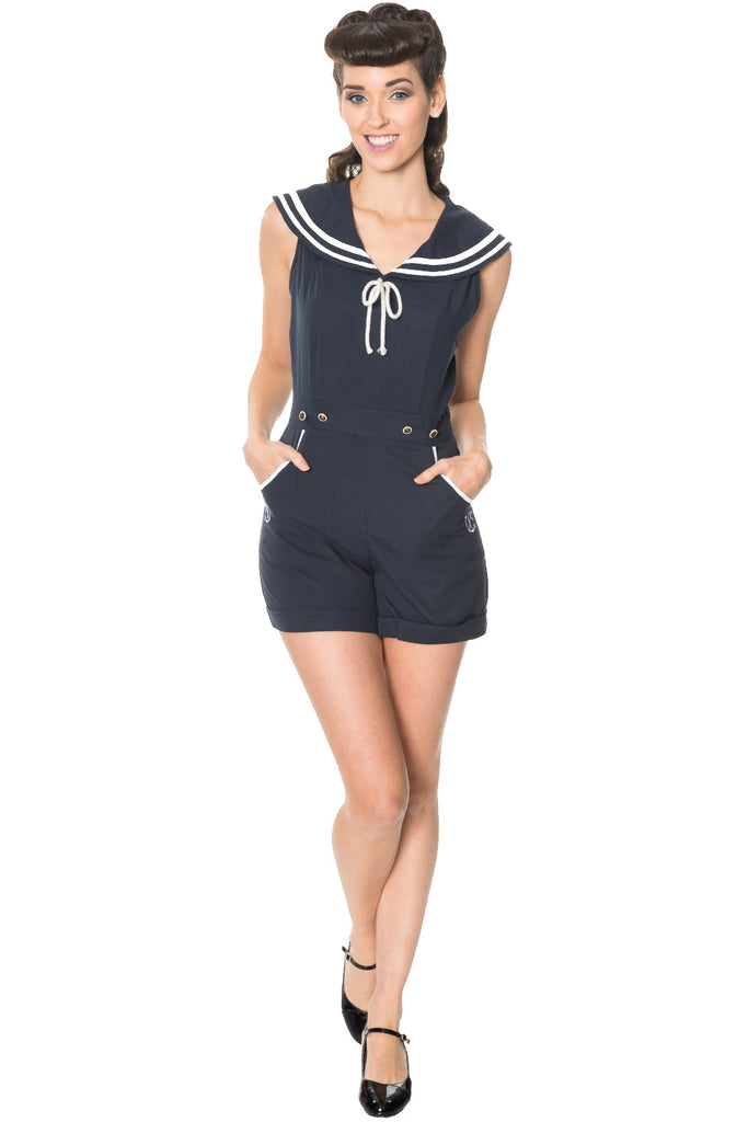 Banned Clothing - Bianca Playsuit