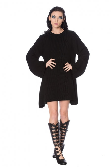 Banned Clothing - Black Magma Dress