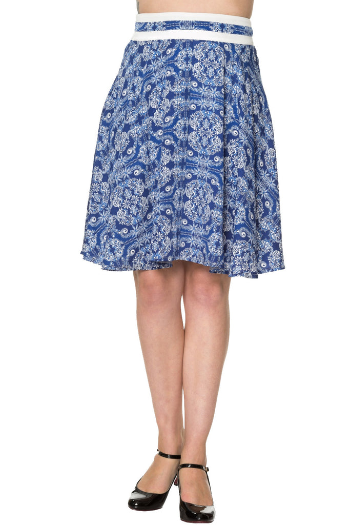 Banned Clothing - Celestial Circle Skirt