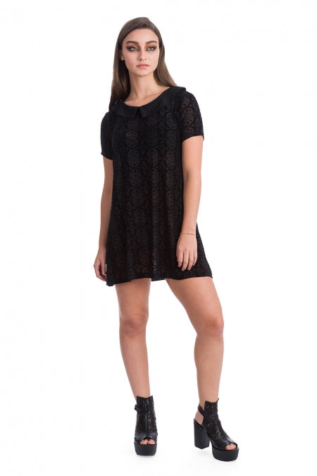 Banned Clothing - Circle Flock Shift Dress