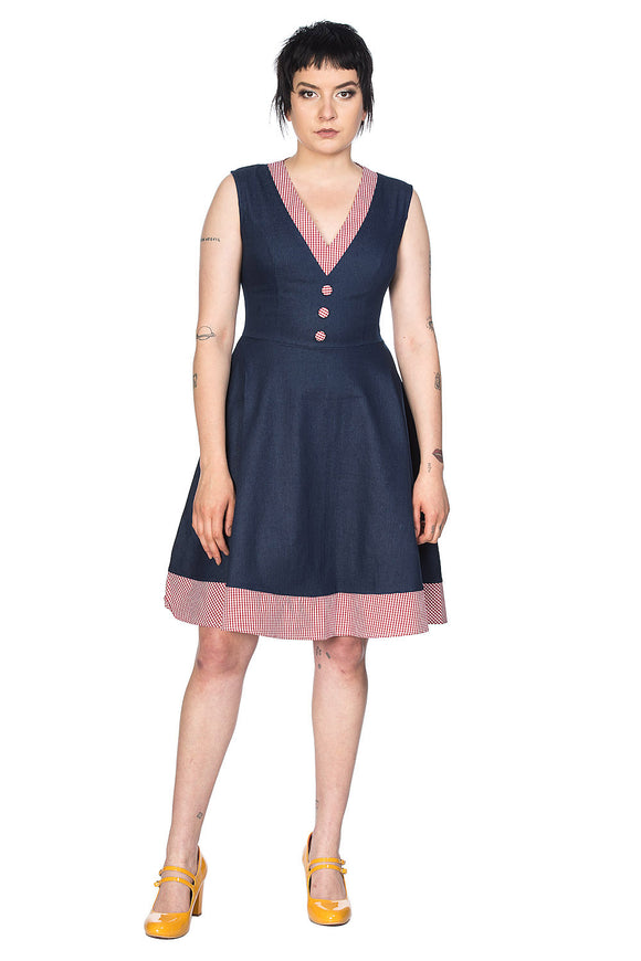 Banned Clothing - Diner Days Fit Flare Dress