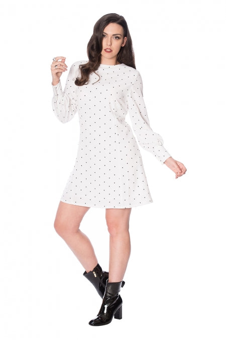 Banned Clothing - Dolly Dot Dress