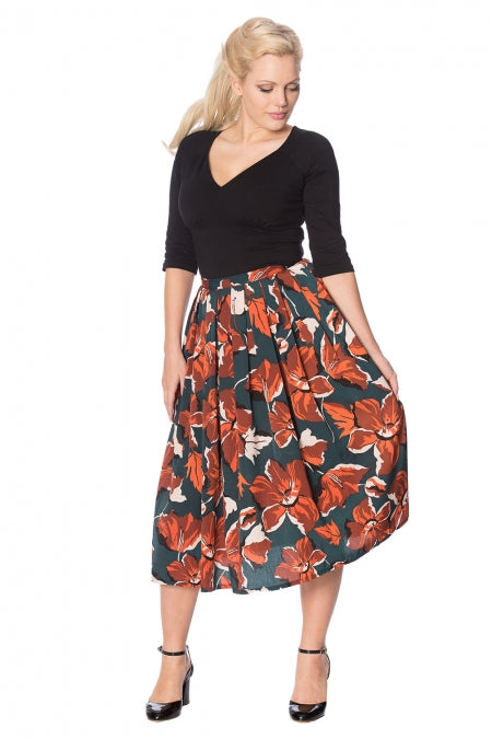Banned Clothing - Dreamy Days Pleat Skirt
