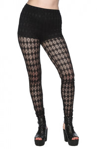 Banned Clothing - Future Flapper Leggings