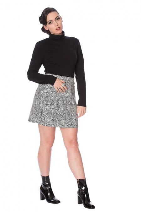 Banned Clothing - Jenny Jacquard Mini