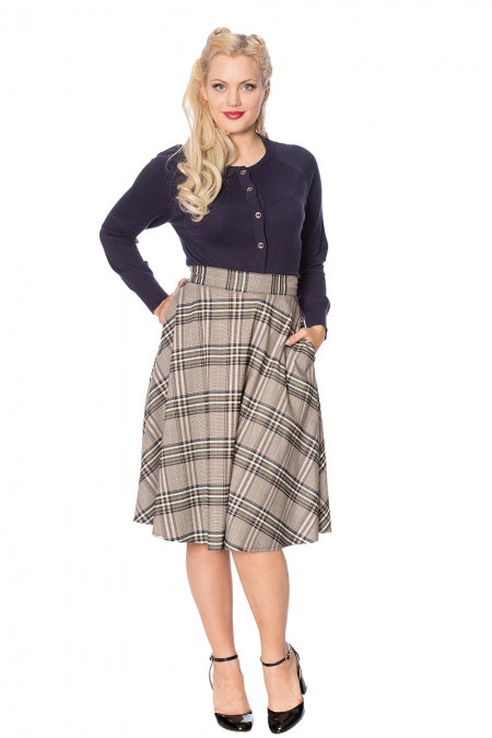 Banned Clothing - Lady Olive Skirt