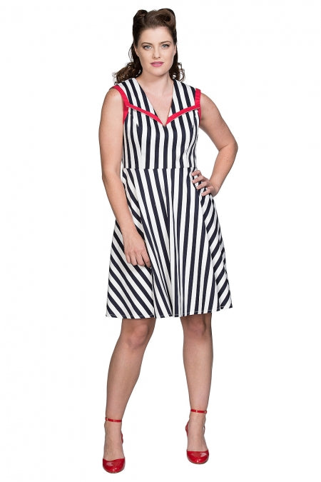 Banned Clothing - Land Ahoy Dress