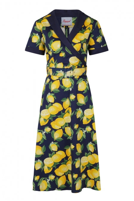 Banned Clothing - Lemon Swing Dress