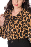 Banned Clothing - Leopard Lady Blouse