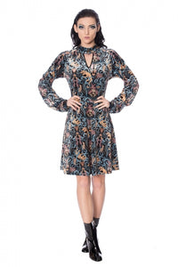 Banned Clothing - Liberty Dragons Dress