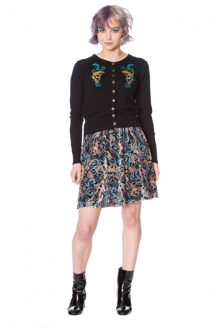 Banned Clothing - Liberty Dragons Skirt