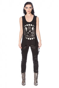 Banned Clothing - Moon Cat Top