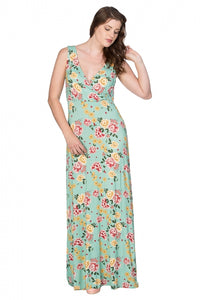 Banned Clothing - Oriental Bloom Maxi