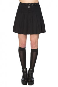Banned Clothing - Pleated Ring Skirt