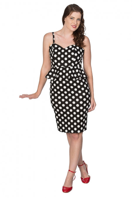 Banned Clothing - Polka Dress