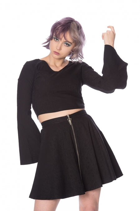 Banned Clothing - Scratch Skater Skirt