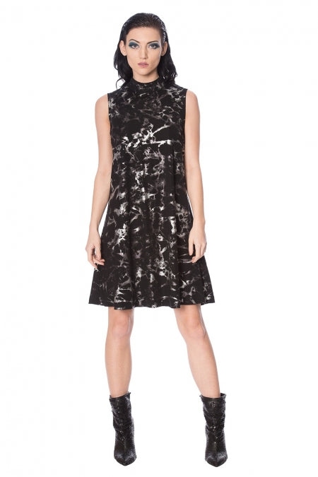 Banned Clothing - Silver Haze Dress