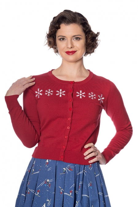 Banned Clothing - Snow Flake Cardigan