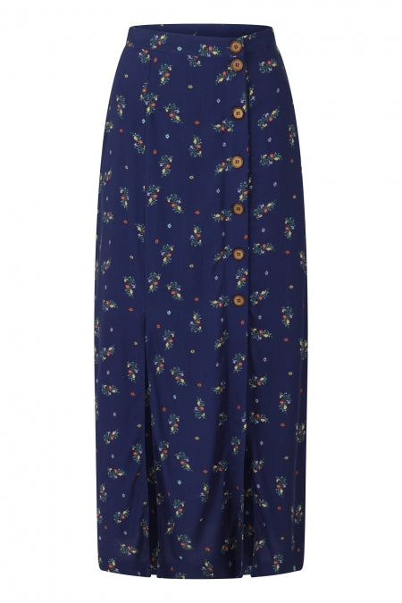 Banned Clothing - Spring Sprig Long Line Skirt