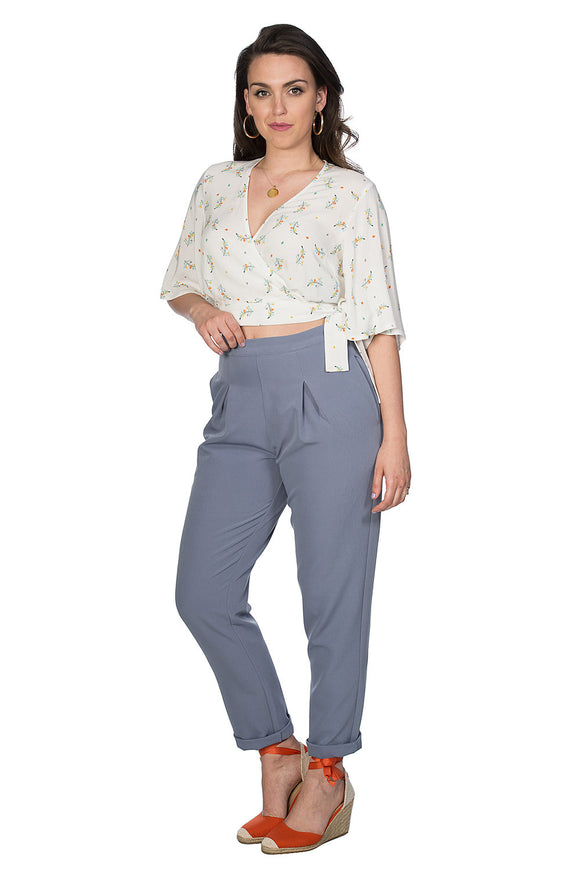 Banned Clothing - Spring Sprig Wrap Blouse