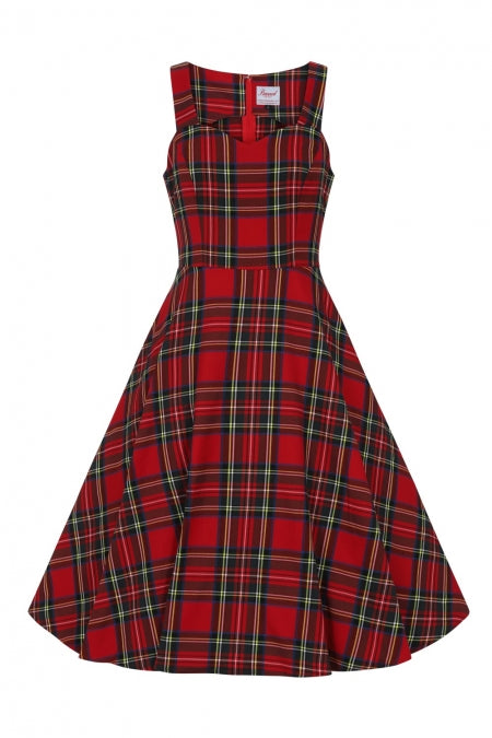 Banned Clothing - Tartan Girl Dress